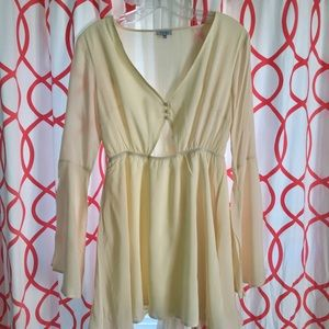 Toni Light yellow dress